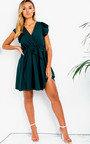 Ola Frill Tie Waist Dress Thumbnail
