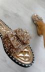Orla Embellished Slip On Sandals Thumbnail