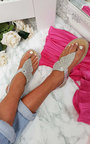 Orlagh Diamante Embellished Sandals Thumbnail
