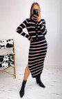 Pamela Cardigan and Skirt Co-ord with Stripe Detail Thumbnail