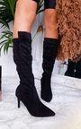 Pami Heeled Knee High Boots Thumbnail