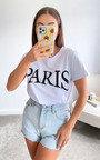 Paris Slogan T-shirt Thumbnail