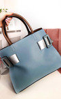 Paris Two Tone Belt Handbag Thumbnail