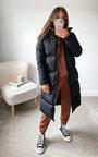 Parissa Padded Longline Puffer Jacket Thumbnail