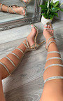 Paula Diamante Knee High Heels Thumbnail