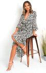 Penelope Printed Floaty Maxi Dress Thumbnail