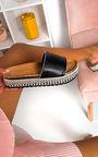 Penelope Studded Woven Sandals  Thumbnail