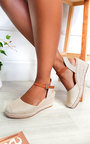Pennie Espadrille Wedged Heels Thumbnail
