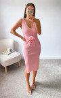 Heidi Knitted Bodycon Midi Dress Thumbnail