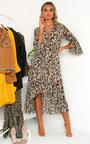 Pennie Leopard Print Maxi Dress Thumbnail