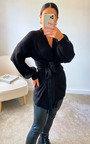 Petra Longline Knitted Cardigan Thumbnail