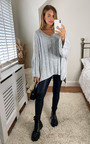 Petra Oversized Cable Knit Jumper Thumbnail