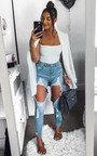 Petra Ripped Skinny Jeans Thumbnail
