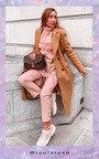 Phoebe Faux Fur Detailed Poncho Thumbnail