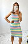 Phoenix Knitted Bodycon Mini Dress Thumbnail