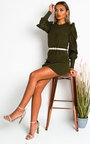 Pia Knitted Mini Dress Thumbnail