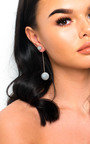 Pixie Pompom Drop Earrings  Thumbnail