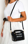 Pollie Clear Slogan Handbag Thumbnail