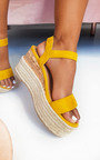 Polly Flatform Wedged Sandals Thumbnail