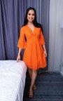 Poppy Crochet Bell Sleeve Dress Thumbnail