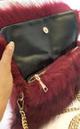 Poppy Faux Fur Shoulder Bag Thumbnail