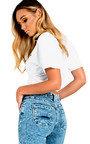 Poppy Ripped Knee Skinny Jeans Thumbnail