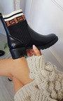 Portia Printed Ankle Boots Thumbnail