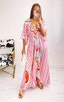 Posie Printed Kimono Dress Thumbnail