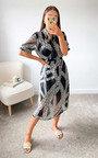 Priya Printed Midi Dress Thumbnail