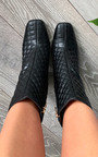 Quinn Heeled Ankle Boots Thumbnail