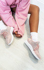 Quinn Lace Up Sock Trainers Thumbnail