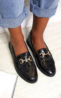 Radley Faux Leather Loafer Flats Thumbnail
