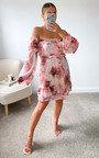 Radley Off Shoulder Floral Dress Thumbnail