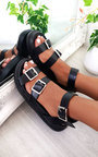 Ray Strappy Platform Sandals  Thumbnail