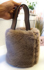 Razzi Fluffy Pouch Bag Thumbnail
