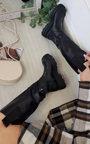 Razzi Knee High Chunky Boots Thumbnail