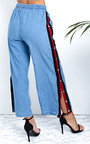 Razzy Popper Legged Stripe Trousers Thumbnail