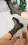 Reegan Chunky Mid Calf Boots Thumbnail