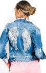 Reegan Embellished Denim Jacket Thumbnail
