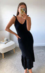 Reese Knitted Bodycon Midi Dress Thumbnail