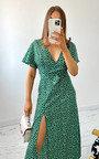 Regan Printed Maxi Dress Thumbnail