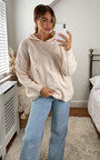 Ren Cable Knit Hoodie Thumbnail