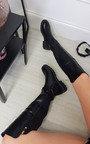 Renata Knee High Zip Detail Boots Thumbnail