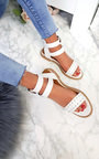 Renesme Double Strap Studded Sandals  Thumbnail
