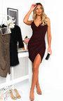 Renni Glitter Mini Bodycon Dress Thumbnail