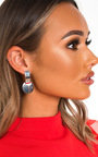 Riri Circle Drop Earrings  Thumbnail