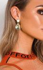 Riri Circle Drop Earrings  Thumbnail