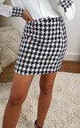 Riri Dogstooth Skirt Thumbnail