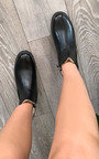 Rita Faux Leather Ankle Boots Thumbnail