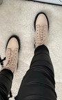 Rita Lace Up Biker Boots Thumbnail